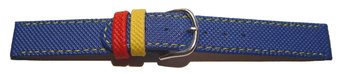 Watch strap - PU - Waterproof - blue - XS