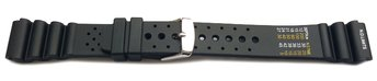 Watch strap - Silicone - Sport - Waterproof - black