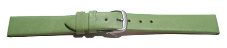 Watch strap - genuine leather - Business - green