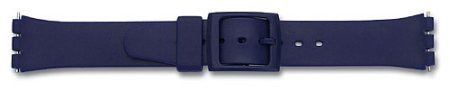 Watch band - rubber - for Swatch - blue