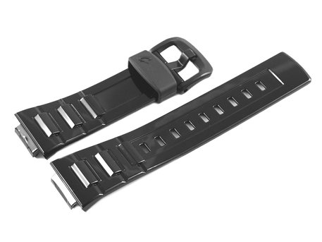 Genuine Casio Black Resin Replacement Watch strap Casio for BLX-100-1, BGD-120-1, BGD-120P-1