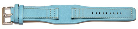 Turquoise leather Festina strap for F16181