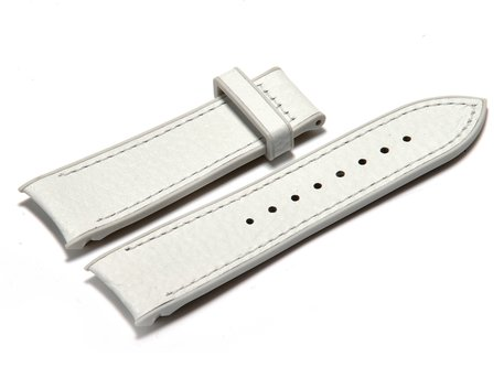Festina Watch Band - for Festina Mambo F16125/7 - White Leather