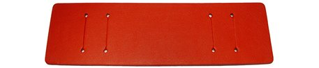 Pad for Watch straps - genuine leather - red - (max. 14mm)