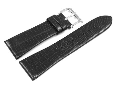 Genuine Festina Replacement Black Leather Watch Strap  F16465,  F16465/3
