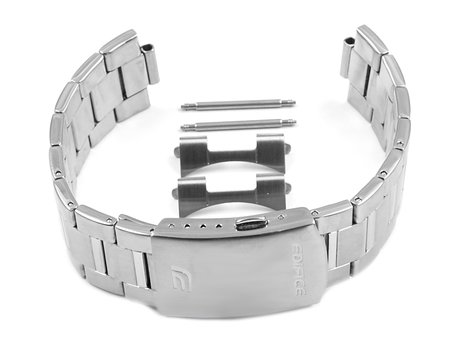 Watch strap bracelet Casio for  EFR-504D, stainless steel